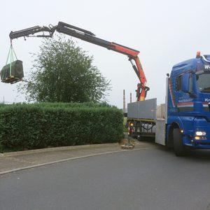 Kran- und Transportarbeiten